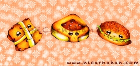 ©Ni Carnahan 2013. All Rights Reserved. Ni's greeting card design-Bread 2012-2013