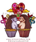 ©NiCarnahan2013 All Rights Reserved Cupcake Love