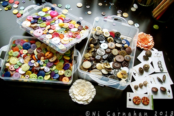 ©NiCarnahan2013 All Rights Reserved. Ni's Button Collections 2013