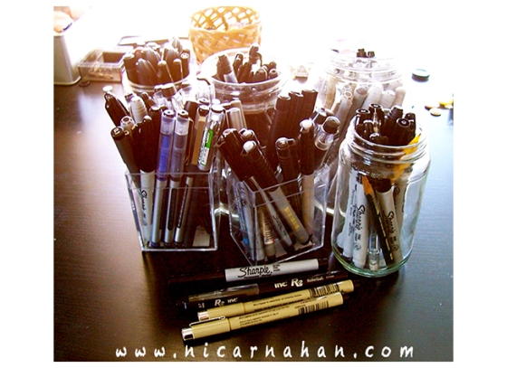 NiCarnahan-NiTool-Collectionofpens