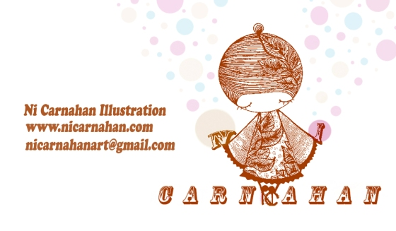 ©Ni Carnahan 2014. All Rights Reserved.版權所有© 妮·康納漢- 保留所有版權權利!! Ni's Business Card Design 2014.